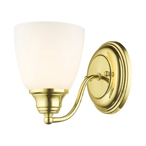 Livex Lighting Livex Lighting Somerville Polished Brass Sconce 13671-02