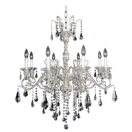 Allegri Lighting Haydn 8 Light Crystal Chandelier 023655-014-FR001
