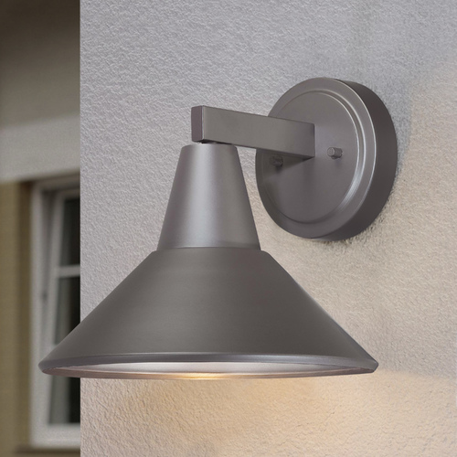 Minka Lavery Dark Sky Approved Bronze Outdoor Wall Down Light - 10-1/2 Inches Tall 72212-615B