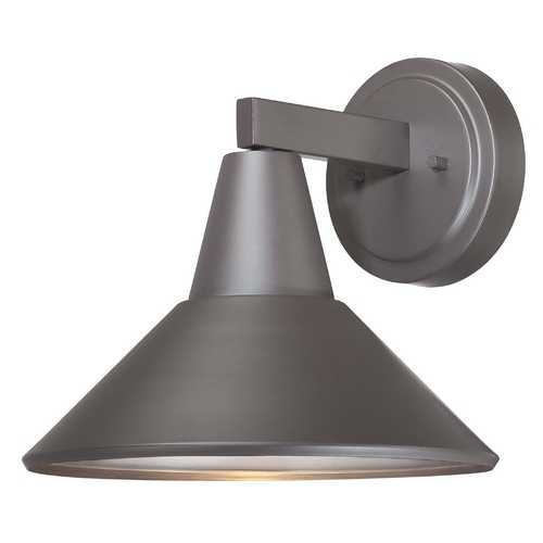 Minka Lavery Dark Sky Approved Bronze Outdoor Wall Down Light - 10-1/2-Inches Tall 72212-615B