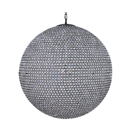 Maxim Lighting Maxim Lighting Glimmer Bronze Pendant Light with Globe Shade 39888BCBZ