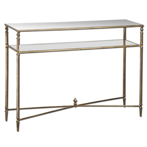 Uttermost Lighting Uttermost Henzler Mirrored Glass Console Table 24278