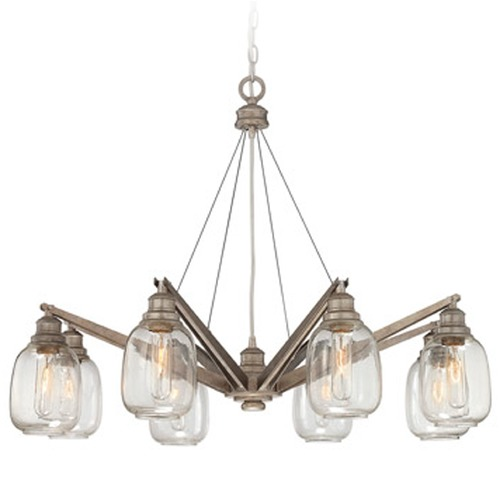 Savoy House Savoy House Industrial Steel Chandelier 1-4331-8-27