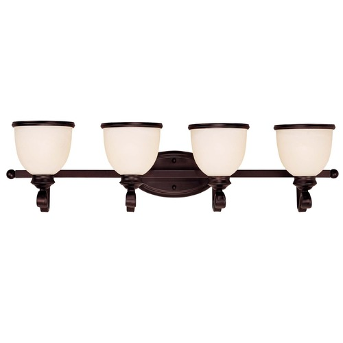 Savoy House Savoy House English Bronze Bathroom Light 8-5779-4-13
