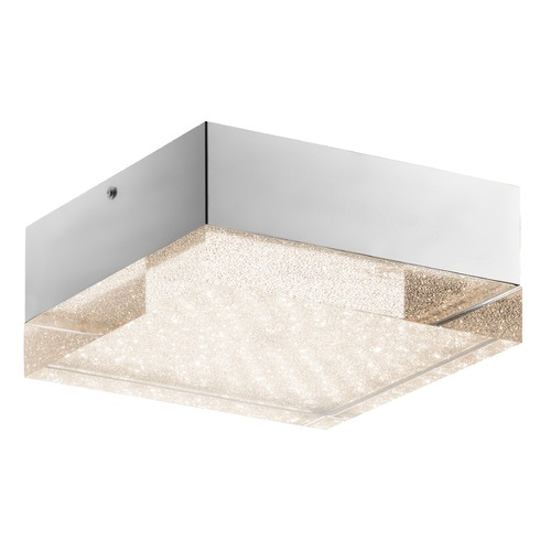 Elan Lighting Elan Lighting Gorve Chrome LED Flushmount Light 83603