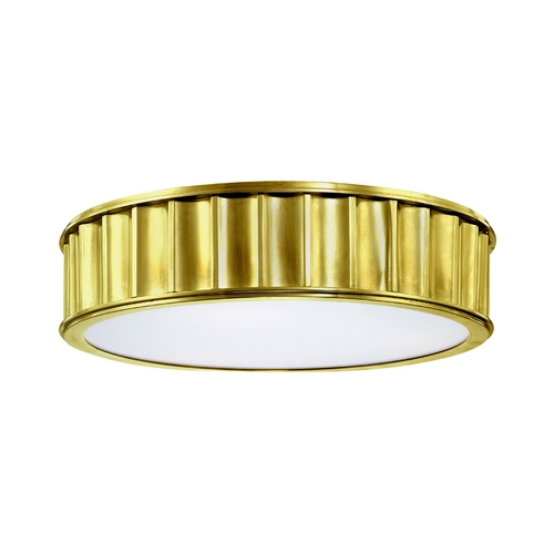 Hudson Valley Lighting Flushmount Light in Aged Brass Finish 912-AGB
