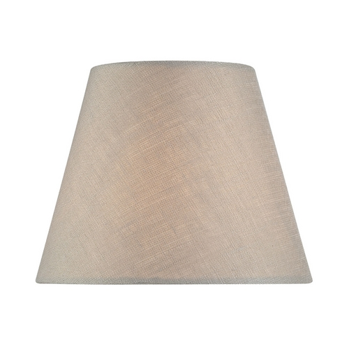 Lite Source Lighting Linen Empire Lamp Shade with Clip-On Assembly - 3x6x5 CH5211-6