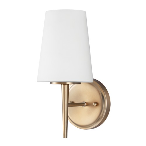 Sea Gull Lighting Sea Gull Lighting Driscoll Satin Bronze Sconce 4140401-848