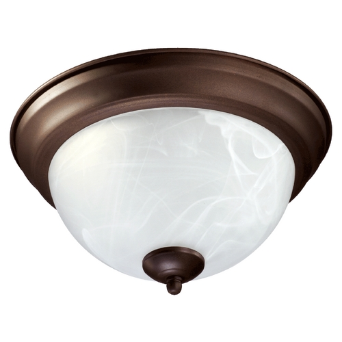 Quorum Lighting Quorum Lighting Oiled Bronze Flushmount Light 3066-11-86