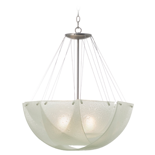 Kalco Lighting Kalco Lighting Cirrus Satin Nickel Pendant Light 5098SN