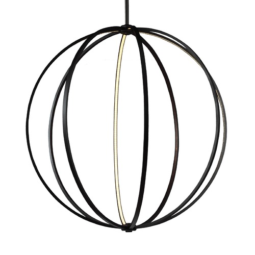 Feiss Lighting Feiss Lighting Khloe Oil Rubbed Bronze LED Pendant Light P1412ORB