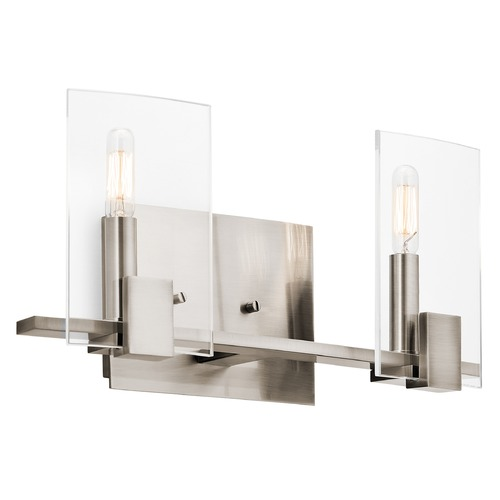 Kichler Lighting Kichler Lighting Signata Classic Pewter Bathroom Light 45702CLP