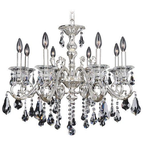 Allegri Lighting Haydn 8 Light Crystal Chandelier 023656-014-FR001