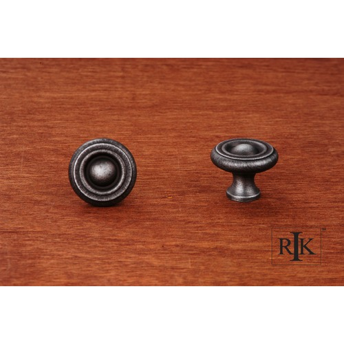 RK International Small Solid Georgian Knob CK4244DN