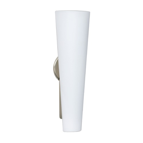 Besa Lighting Besa Lighting Tino Satin Nickel LED Sconce 780507-LED-SN