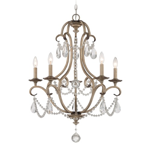 Designers Fountain Lighting Designers Fountain Gala Argent Silver Chandelier 86085-ARS