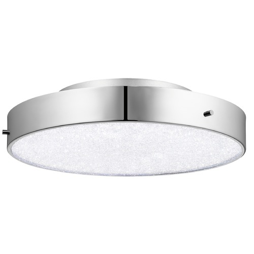 Elan Lighting Elan Lighting Crystal Moon Chrome LED Flushmount Light 83588