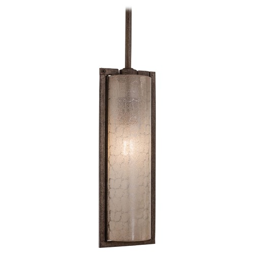 Minka Lavery Mini-Pendant Light with Beige / Cream Glass 4391-573