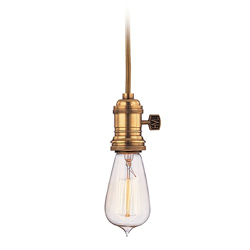 Hudson Valley Lighting Mini-Pendant Light 8002-AGB