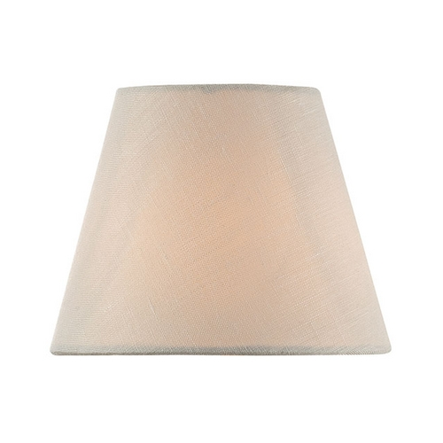 Lite Source Lighting Linen Empire Lamp Shade with Clip-On Assembly CH5212-5