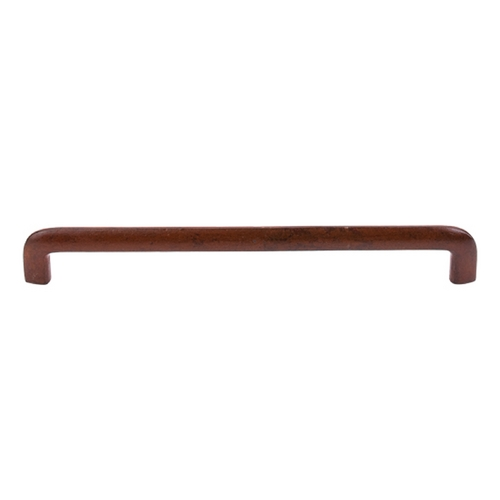 Top Knobs Hardware Modern Cabinet Pull in True Rust Finish M1806