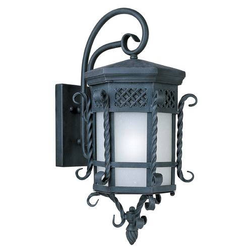 Maxim Lighting Maxim Lighting Scottsdale Ee Country Forge Outdoor Wall Light 86324FSCF