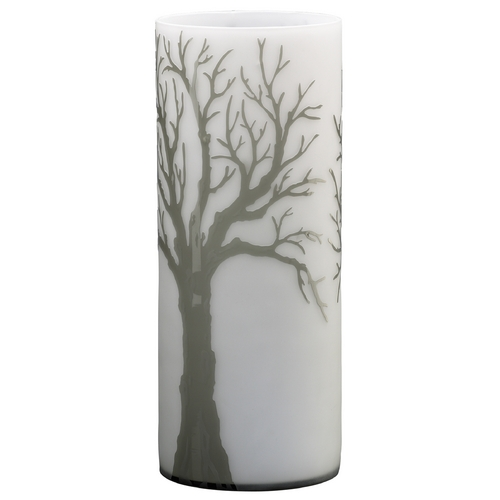 Cyan Design Cyan Design Oak Alley Acid White & Smoke Vase 01838