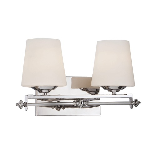 Savoy House Savoy House Polished Chrome Bathroom Light 8-5850-2-11