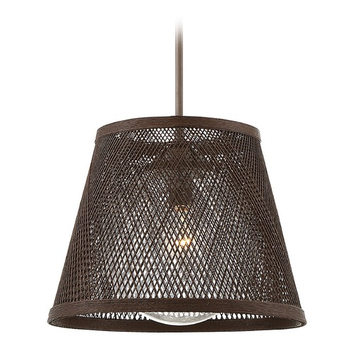 Savoy House Savoy House Lighting Messina Architectural Bronze Outdoor Hanging Light 7-1140-1-71