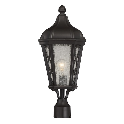Savoy House Savoy House Lighting Hamilton English Bronze Post Light 5-413-13