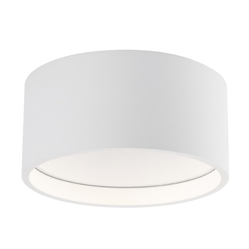 Kuzco Lighting Modern White LED Flushmount Light 3000K 750LM FM10205-WH