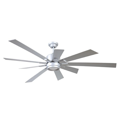Craftmade Lighting Craftmade Lighting Katana Titanium LED Ceiling Fan with Light KAT72TI-72TI