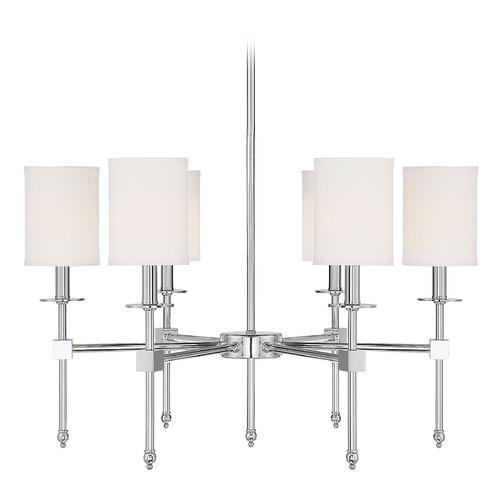 Savoy House Savoy House Lighting Chatham Polished Nickel Chandelier 1-305-6-109