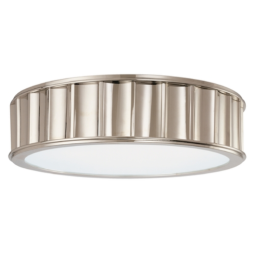 Hudson Valley Lighting Flushmount Light in Polished Nickel Finish 912-PN