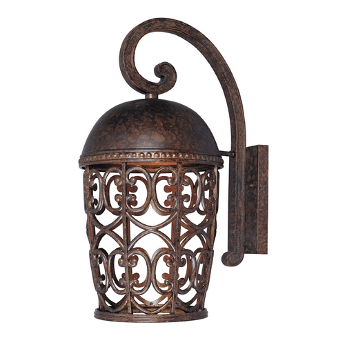 Designers Fountain Lighting Outdoor Wall Light in Burnt Umber Finish 97593-BU