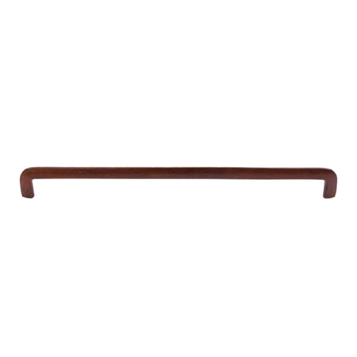 Top Knobs Hardware Modern Cabinet Pull in True Rust Finish M1807
