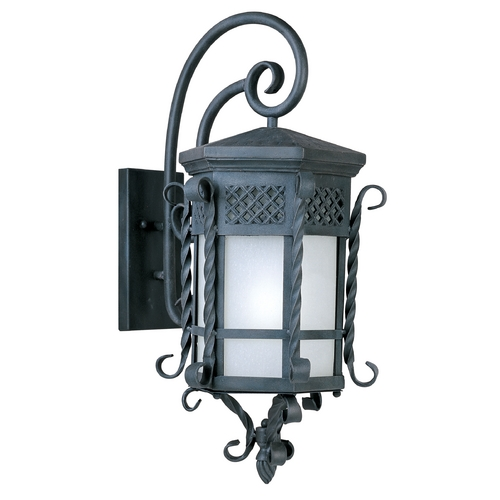 Maxim Lighting Maxim Lighting Scottsdale Ee Country Forge Outdoor Wall Light 86325FSCF