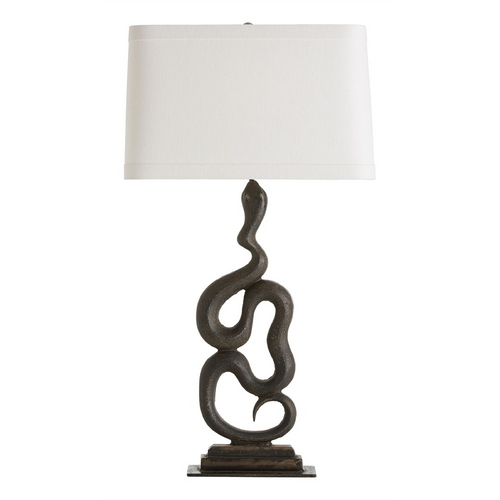 Arteriors Home Lighting Arteriors Home Lighting Heath Natural Iron Table Lamp with Rectangle Shade 16312-795
