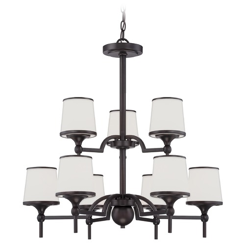 Savoy House Savoy House English Bronze Chandelier 1-4380-9-13