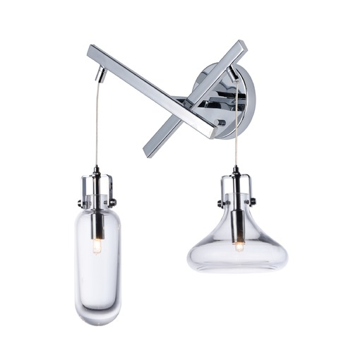 ET2 Lighting ET2 Kem Polished Chrome Sconce E24310-18PC