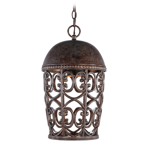 Designers Fountain Lighting Outdoor Hanging Light in Burnt Umber Finish 97594-BU