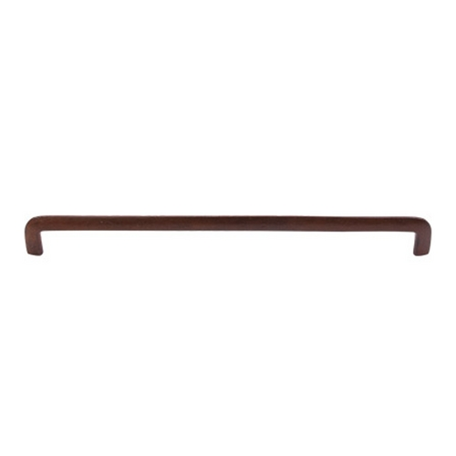Top Knobs Hardware Modern Cabinet Pull in True Rust Finish M1808
