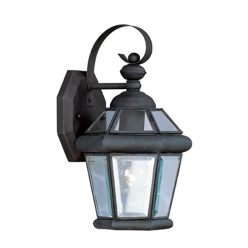 Livex Lighting Livex Lighting Georgetown Black Outdoor Wall Light 2061-04