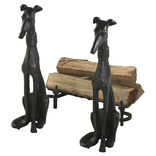 Cyan Design Cyan Design Dog & Irons Canyon Bronze Sculpture 01855