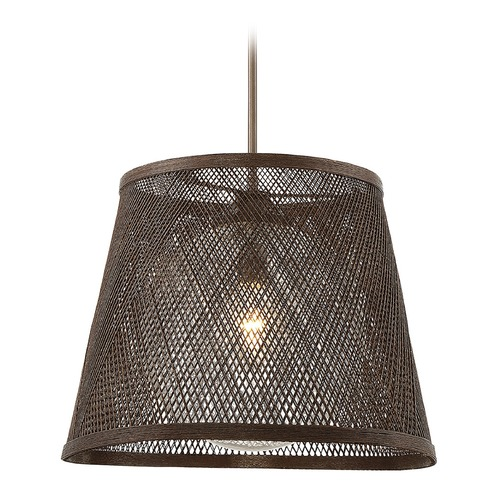 Savoy House Savoy House Lighting Messina Architectural Bronze Outdoor Hanging Light 7-1141-1-71