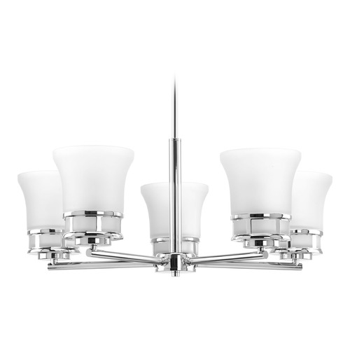Progress Lighting Progress Lighting Cascadia Polished Chrome Chandelier P4613-15
