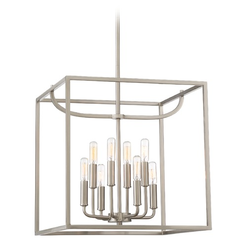 Designers Fountain Lighting Designers Fountain Uptown Satin Platinum Pendant Light 88458-SP