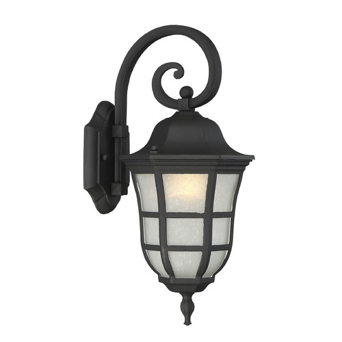 Savoy House Savoy House Lighting Ashburn Black Outdoor Wall Light 5-480-BK