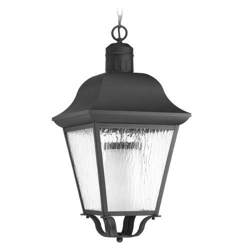 Progress Lighting Progress Lighting Andover CFL Black Outdoor Hanging Light P6538-31