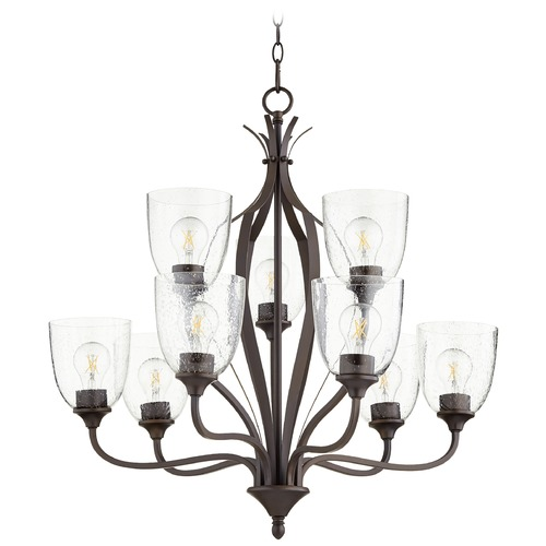 Quorum Lighting Quorum Lighting Jardin Oiled Bronze Chandelier 6127-9-286